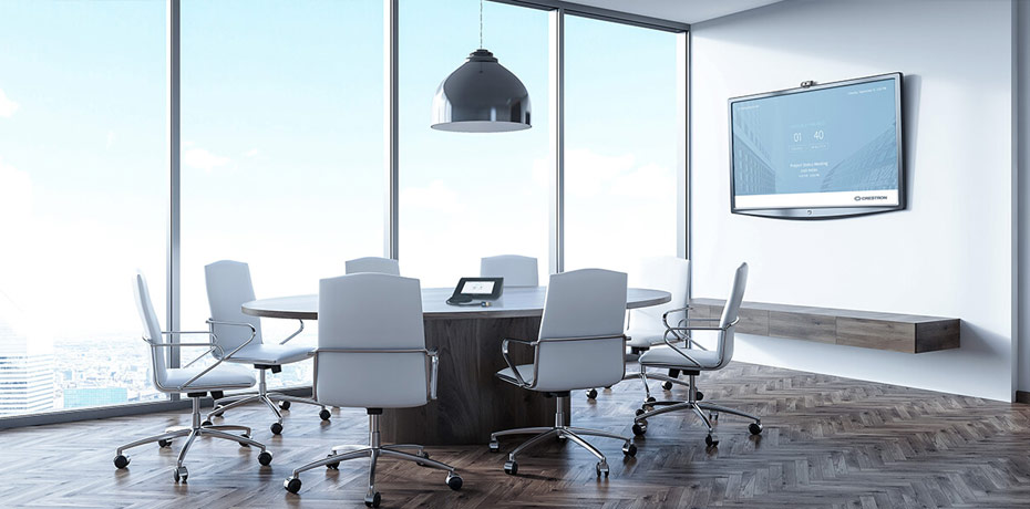 Crestron Mercury™ conference system