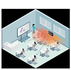 Lightspeed Audio Solutions - Classroom schematic