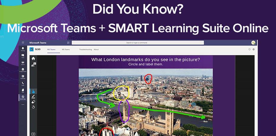 Microsoft Teams - SMART Learning Suite Online Integration